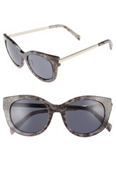 Draper James Women's 53Mm Modified Cat Eye Sunglasses Grey