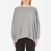 Boss Orange Women's Izusal Jumper Medium Grey