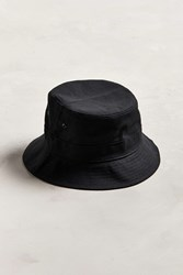 Urban Outfitters Uo Canvas Bucket Hat Black
