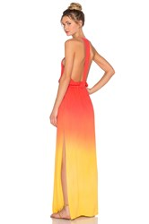 Young Fabulous And Broke Nala Maxi Dress Orange