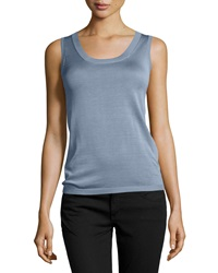 Carolina Herrera Silk Blend Knit Tank Top Small