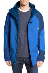 The North Face Men's Achilles Waterproof Hooded Jacket Bomber Blue Shady Blue