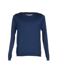 Private Lives Knitwear Jumpers Men Pastel Blue