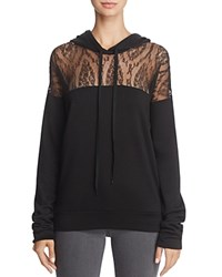 Bailey 44 Nightmare At The Monastery Lace Inset Hoodie Black