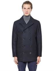 Brooks Brothers Double Breasted Wool Coat