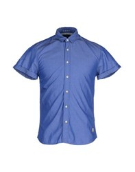 Scotch And Soda Shirts Shirts Men Blue