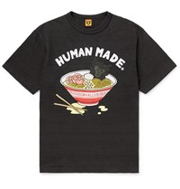 Human Made Printed Cotton Jersey T Shirt Black