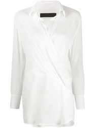Federica Tosi Checked Wrap Blouse 60