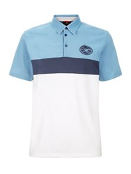 Victorinox Badge Short Sleeve Polo Sea