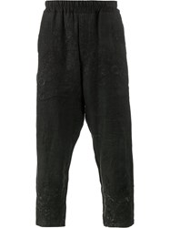 By Walid Morton Embroidered Trousers Black