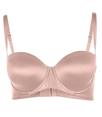 Wolford Sheer Touch Bandeau Bra Pink
