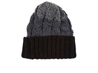 Ca4la Men's Ombre Wool Blend Beanie Dark Grey