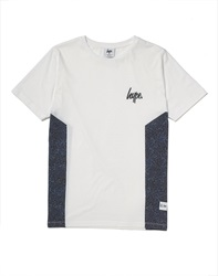 Hype X The Idle Man Midnight Speckle Side Panel T Shirt