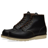 Red Wing Shoes Classic 6 Moc Boot Black