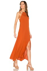 Wyldr In Your Eyes Maxi Dress Rust