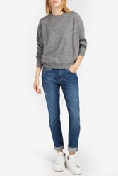Acne Studios Women S Jhira Alpaca Jumper Boutique1 Grey