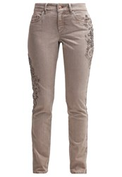 Escada Sport Straight Leg Jeans Grey Grey Denim