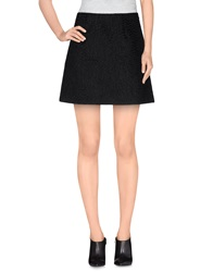 Marco De Vincenzo Mini Skirts Black