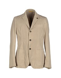 Roy Rogers Roy Roger's Suits And Jackets Blazers Men Beige
