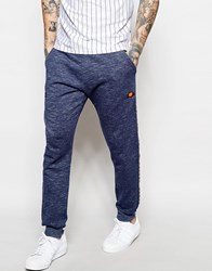 Ellesse Joggers With Logo Taping Blue Slab Marl