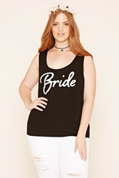 Forever 21 Plus Size Ribbed Bride Tank