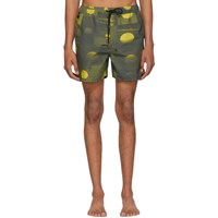 Ksubi Green And Yellow Vitality Board Shorts