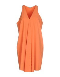 Alysi Dresses Short Dresses Women Orange