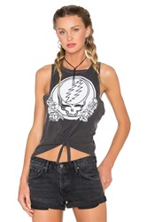 Chaser Grateful Dead Syf Roses Tank Charcoal