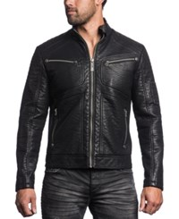 Affliction Death Race Faux Leather Jacket
