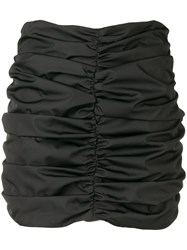 Attico Pleated Skirt Black