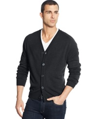 Weatherproof Soft Touch Cardigan Sweater Charcoal Heather