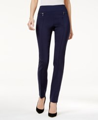Styleandco. Style Co. Pull On Skinny Pants Only At Macy's Industrial Blue