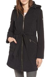 Guess Women's Soft Shell Trench Coat Black