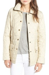 Barbour Women's 'Beadnell Summer' Quilted Jacket Pearl
