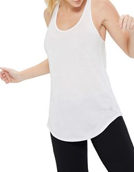 Mpg Shock Racerback Active Tank Top Bright White