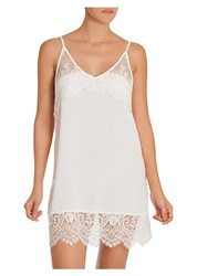 In Bloom Darlin Lace Trimmed Chemise Ivory