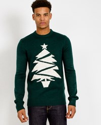 The Idle Man Christmas Tree Jumper