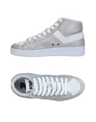 Pony Sneakers Silver