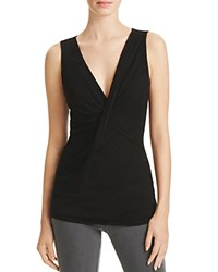 Velvet By Graham And Spencer Dorinda V Neck Tank Black