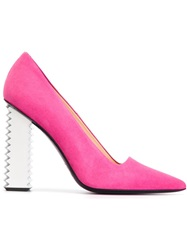 Aperlai Aperlai '1914' Pumps Pink And Purple
