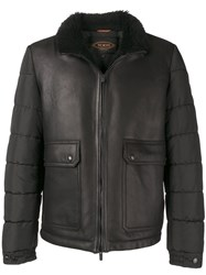 Tod's Zipped Jacket Black