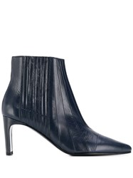 Michel Vivien Ribbed Ankle Boots 60