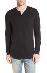 The Rail Men's Notch Neck Thermal T Shirt