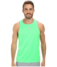 Adidas Sequencials Money Singlet Flash Green Men's Sleeveless