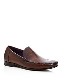 Ted Baker Simeen Moc Toe Loafers Brown