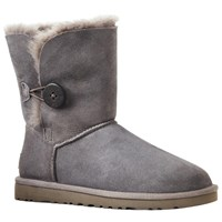 Ugg B Button Short Boots Grey