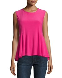 Cynthia Steffe Sleeveless Knit Swing Tank Pink