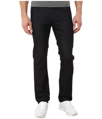 7 For All Mankind Slimmy W Clean Pocket In Deep Well Deep Well Men's Clothing Black