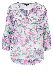 More And More Blouse Soft Lavender Multicoloured