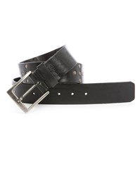 Nudie Jeans Black Nathansson Studded Leather Belt